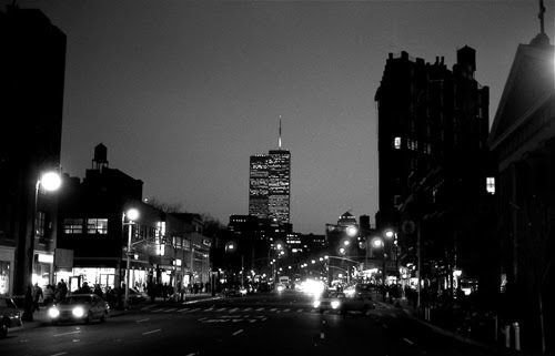 What a Greenwich-Village sunset USED to look like