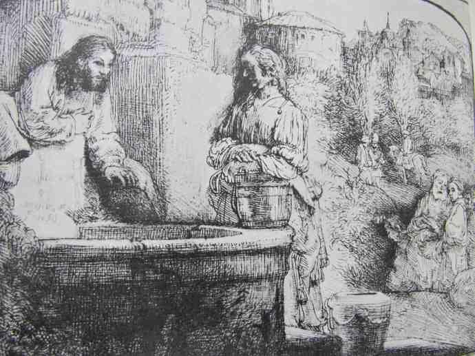 Rembrandt Samaritan woman