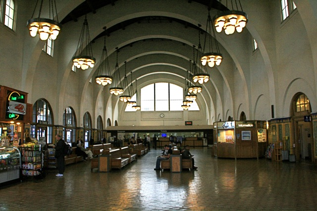 Santa Fe train station, downtown San Diego