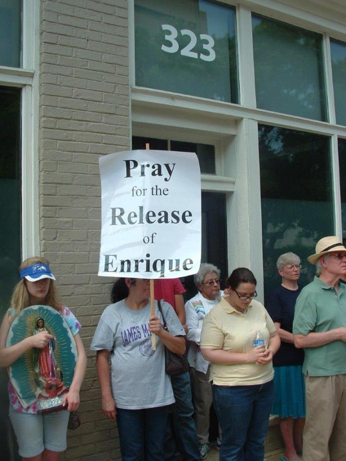 Pray for the Release of Enrique