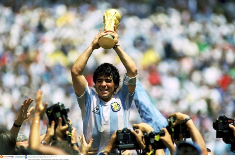 Diego Maradona and Argentina won