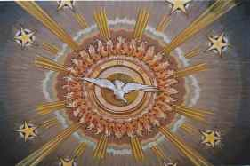 Holy Spirit dove sun
