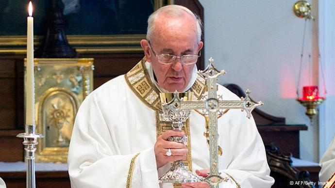 Pope Francis Mass consecration
