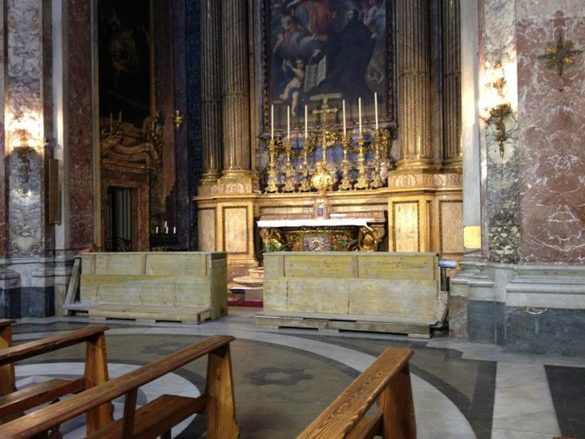 Tomb of St. Camillus in Rome