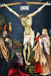 Grunewald the Small Crucifixion