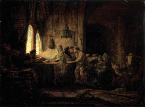 Rembrandt Laborers in the Vineyard
