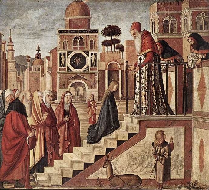 Carpacio Presentation of the Virgin
