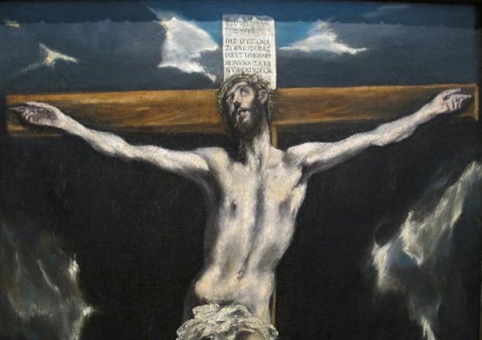 El Greco crucifixion Cristo sulla croce