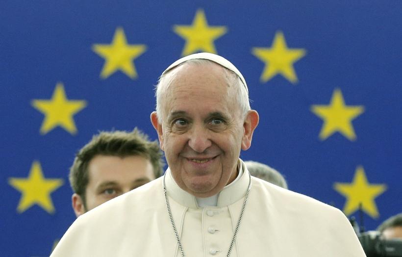 France EU Pope