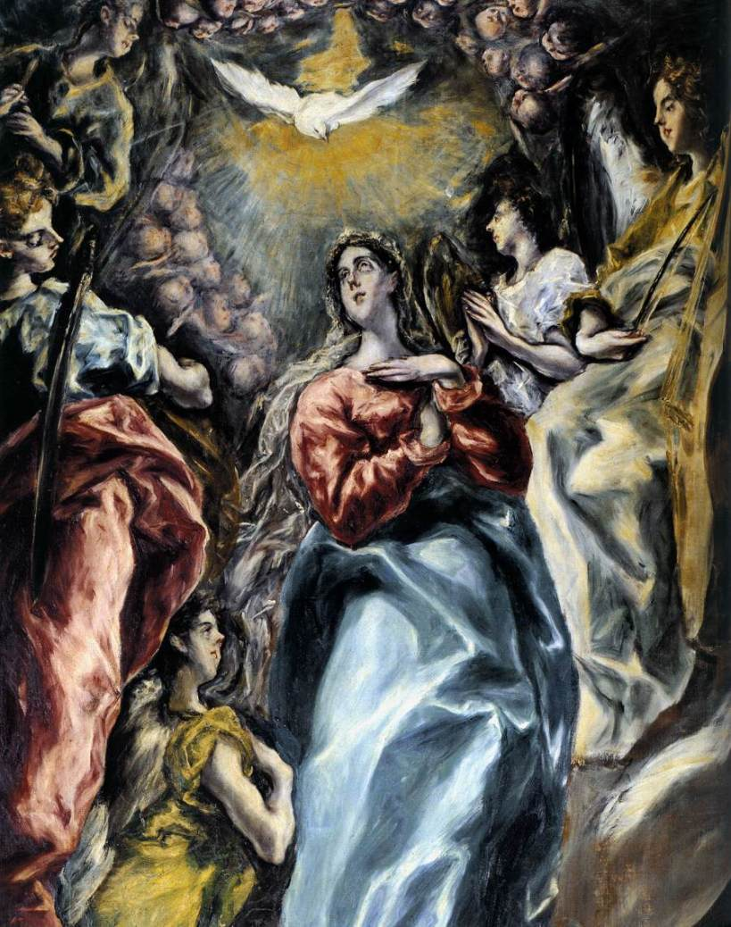 El Greco celebrated Immaculate Conception on Dec 9, the day Our Lady first appeared in Guadalupe
