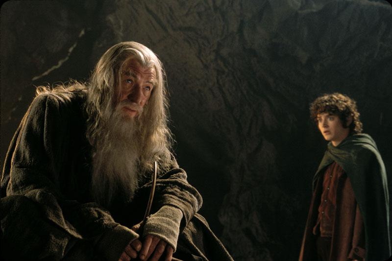 Gandalf Frodo Moria