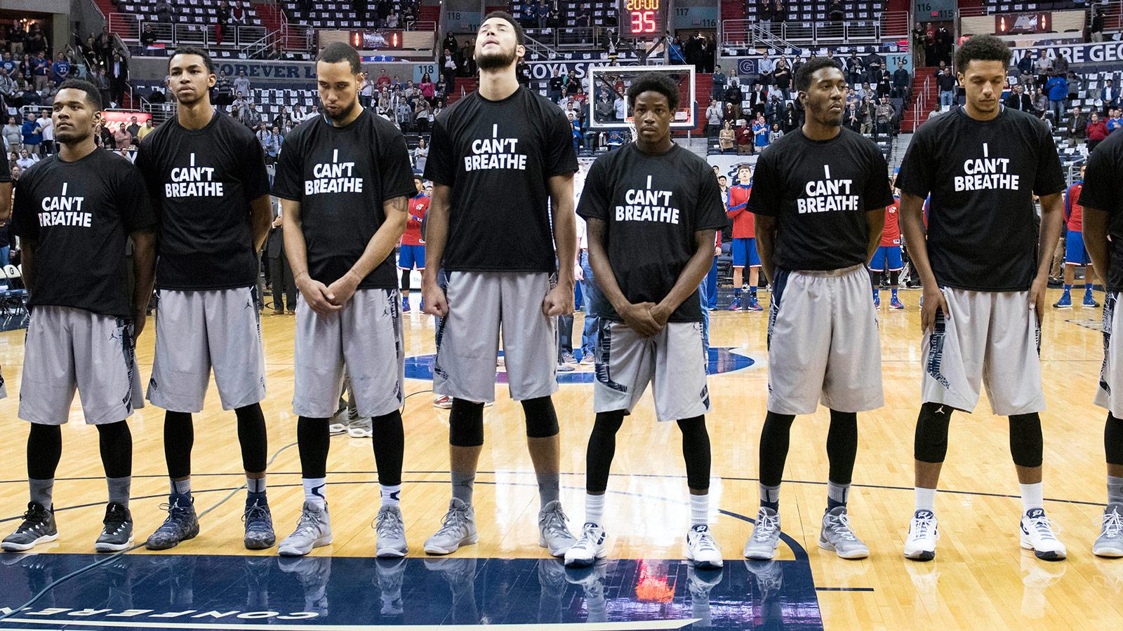 NCAA Basketball: Kansas at Georgetown