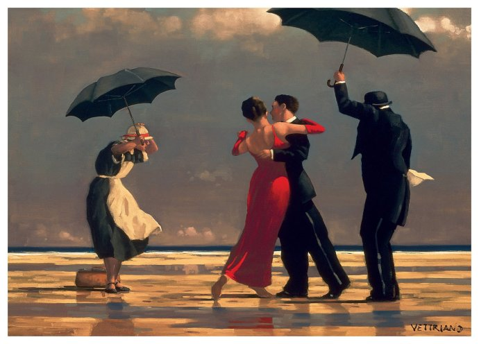 """""""The Singing Butler"""" by Jack Vettriano"""