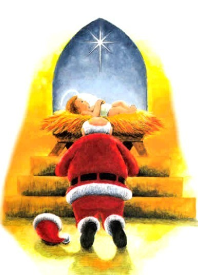 Santa baby Jesus