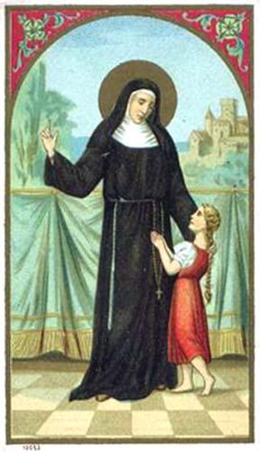 Angela Merici holy card