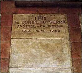 Juniper Serra tomb