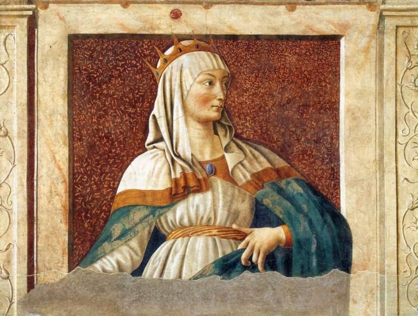 Queen Esther by Andrea de Castagno