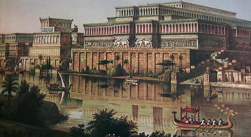 The Palaces of Nimrud Restored by James Fergusson