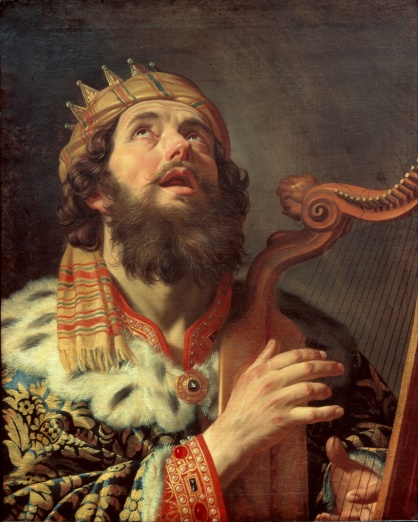 King David harp