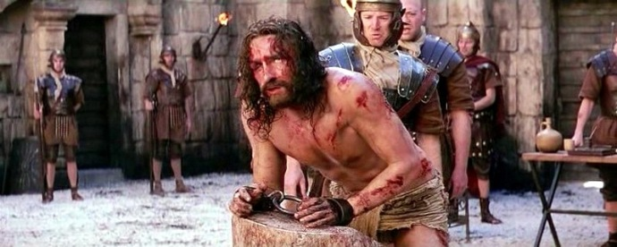 Passion of the Christ scourging my heart is ready