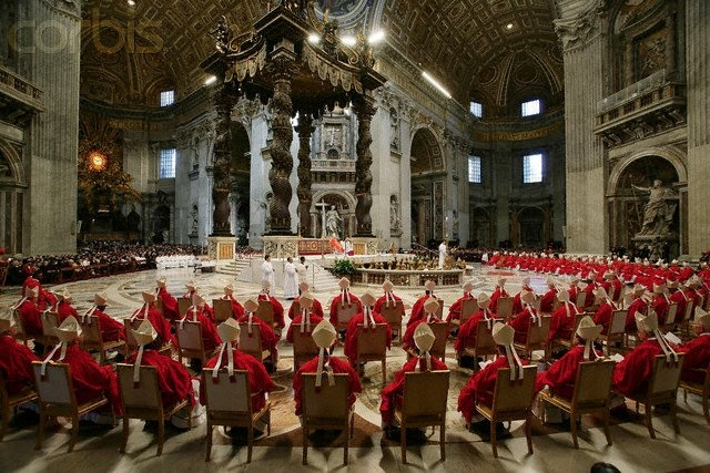 Conclave Mass 2005 St Peters
