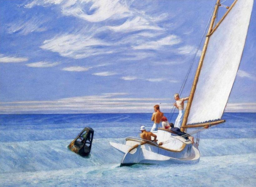 Ground Swell Edward Hopper
