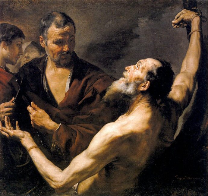 Jusepe de Ribera Martyrdom of St. Bartholomew