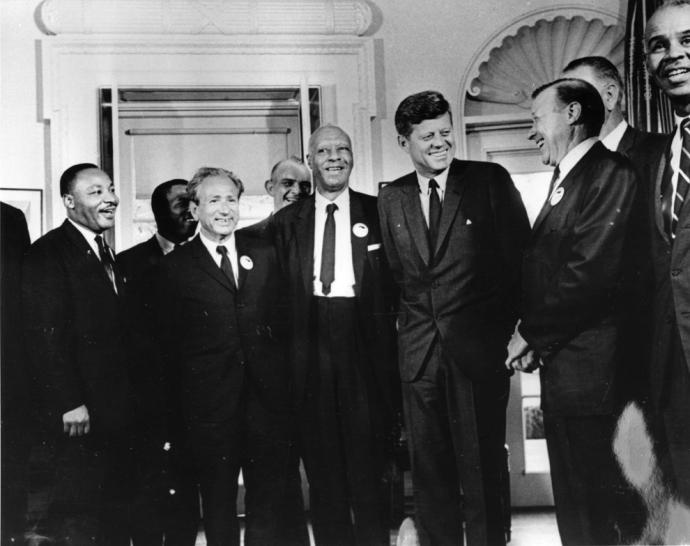 Kennedy Randolph MLK 1963