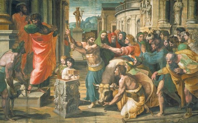 Raphael Sacrifice at Lystra