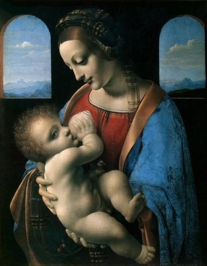 Leonardo da Vince Madonna and Child