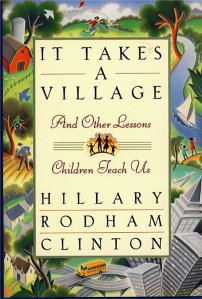 It-Takes-a-Village-book-cover-by-Hillary-Clinton