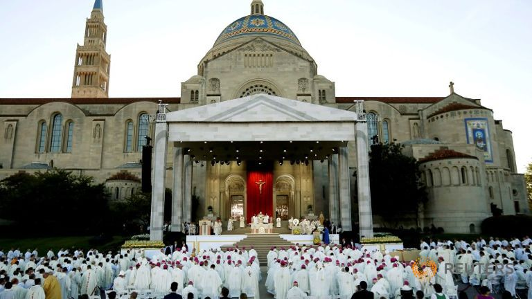 Pope Francis Shrine Immaculate Mass Junipero Serra
