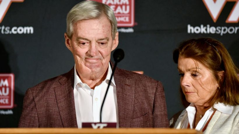 Frank Beamer retirement announcement