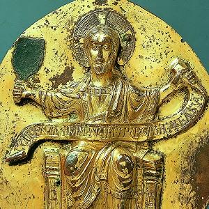 Christ with winnowing fan