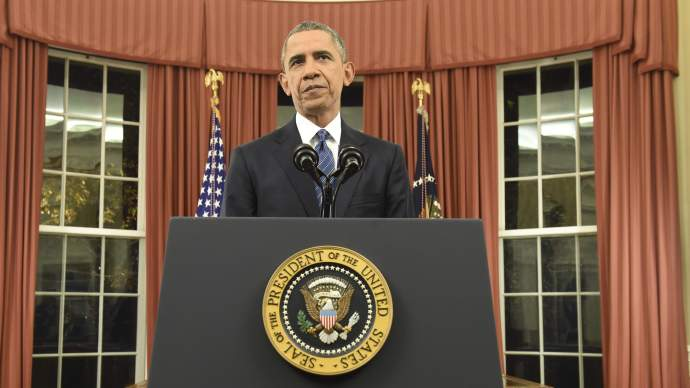 Obama Oval Office ISIS speech