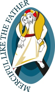 This is the logo for the Holy Year of Mercy, which opens Dec. 8 and runs until Nov. 20, 2016. (CNS/courtesy of Pontifical Council for Promoting New Evangelization) See JUBILEE-MERCY May 5, 2015.