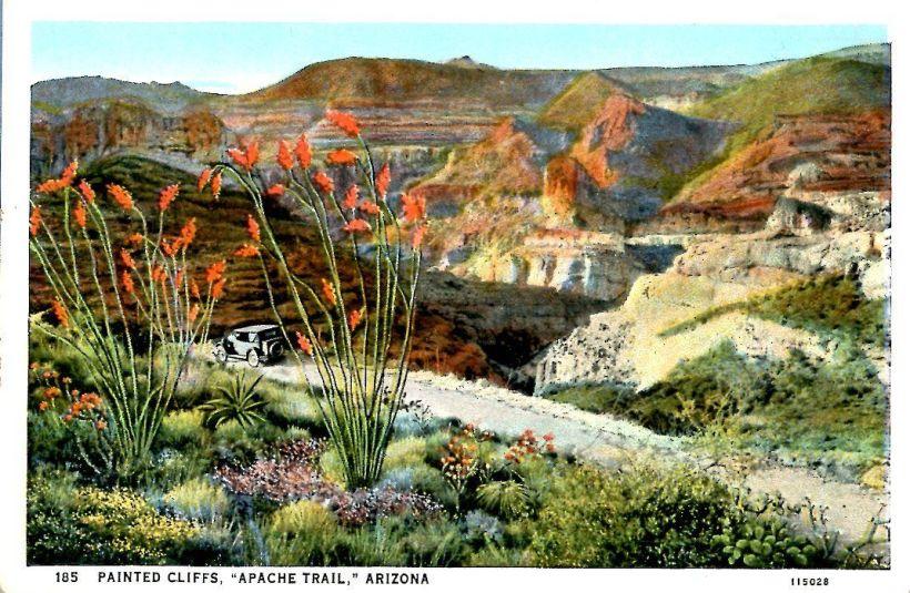 Apache Trail postcard