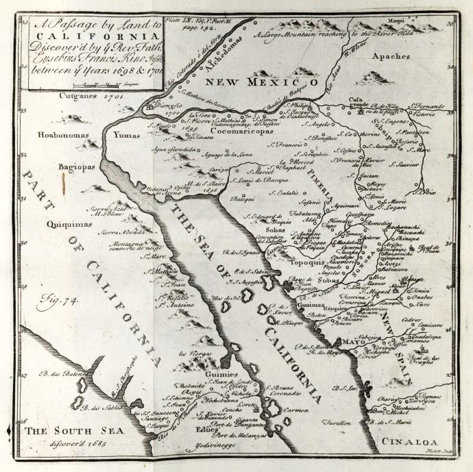 Eusebio Kino map