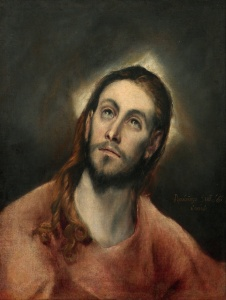El Greco Christ in Prayer