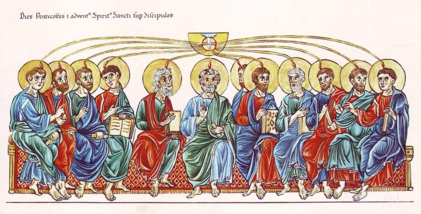 Book of Hours Pentecost