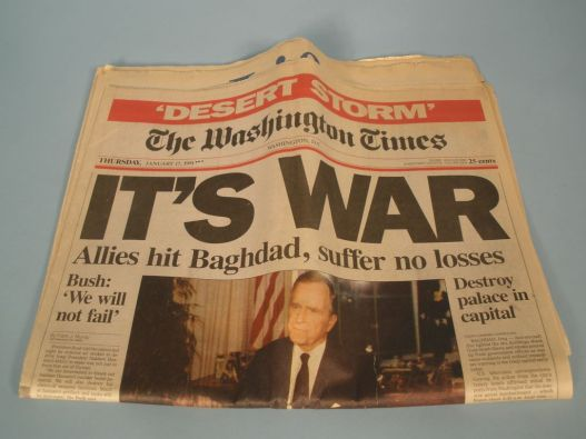 Washington Times Jan 17 1991