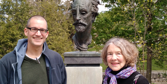 Stratford Shakespeare bust