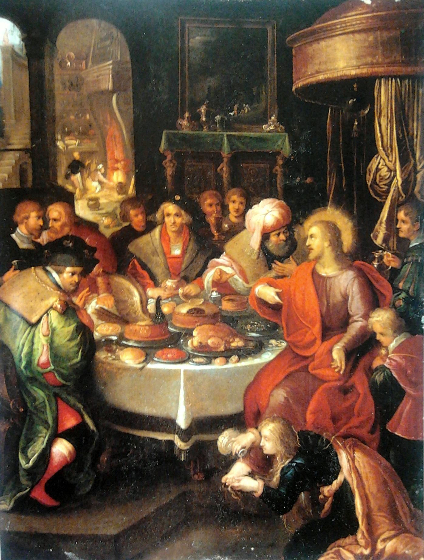 Francken Feast House of Simon Pharisee