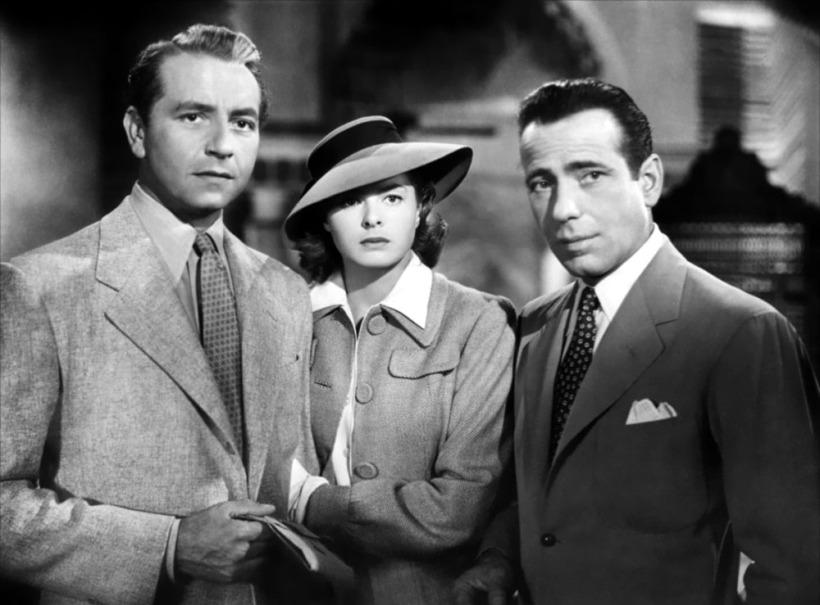 Casablance Bergman Bogart
