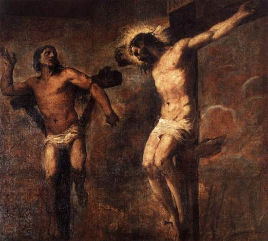 titian-christ-and-the-good-thief
