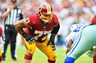 Shawn Lauvao Redskins 77
