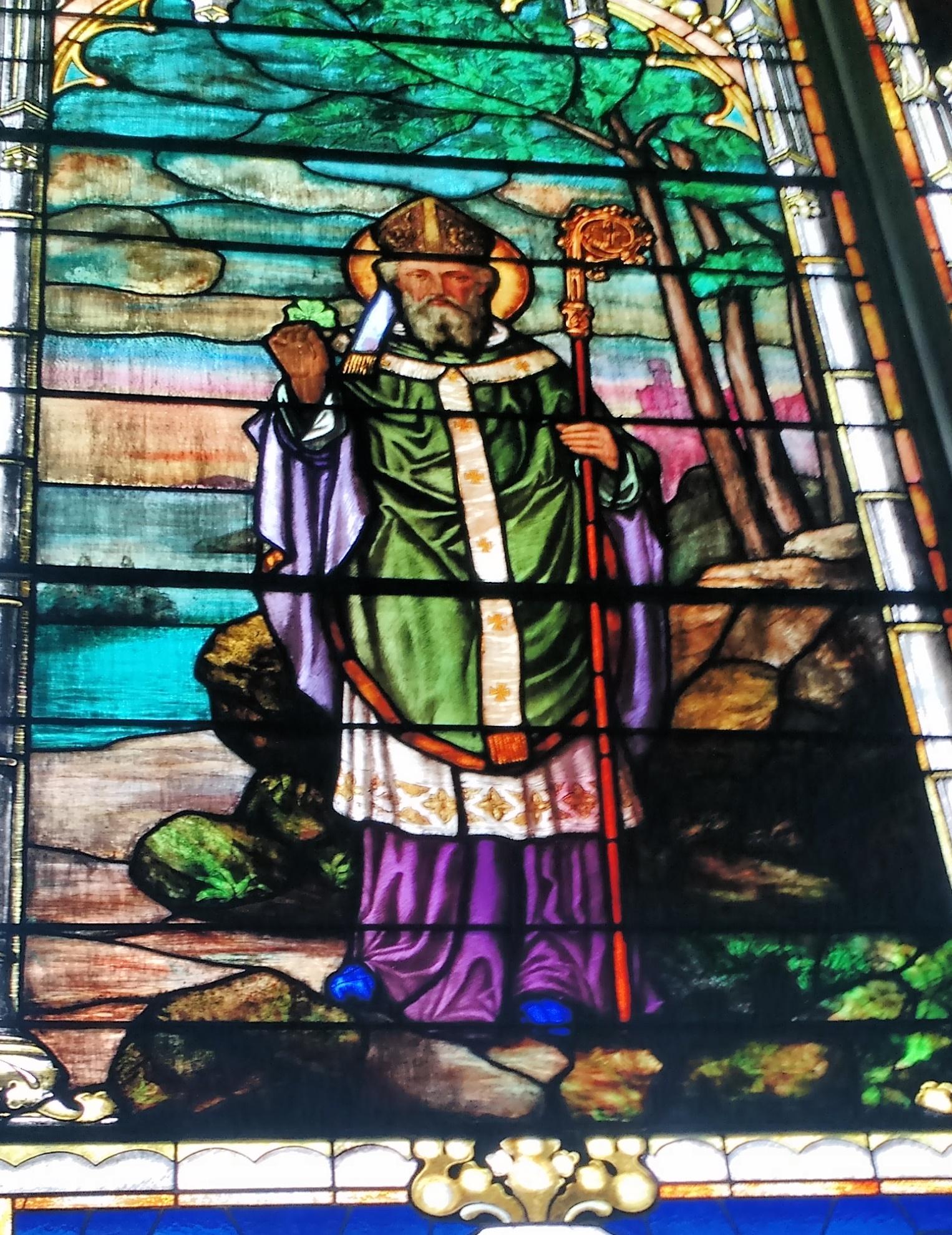 StA St Patrick window