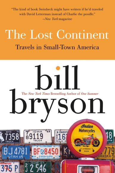 bill bryson lost continent