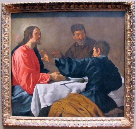 Velázquez cena in emmaus