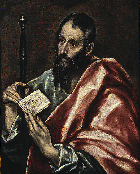 El Greco St. Paul in St Louis